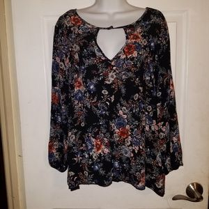 American Eagle Outfitters Womens Boho Pullover Top